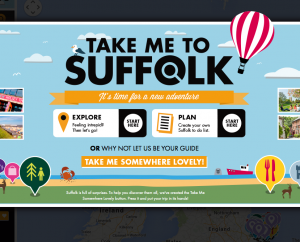 'Take me to Suffolk' …brings people to Suffolk