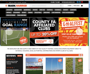 Mark Harrod's new website launches