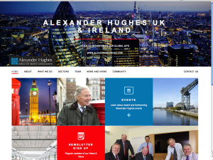 Alexander Hughes UK website launches