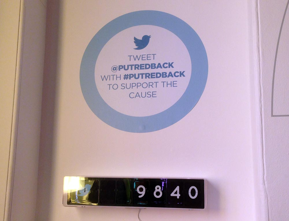 #putredback with #poweredbytweets
