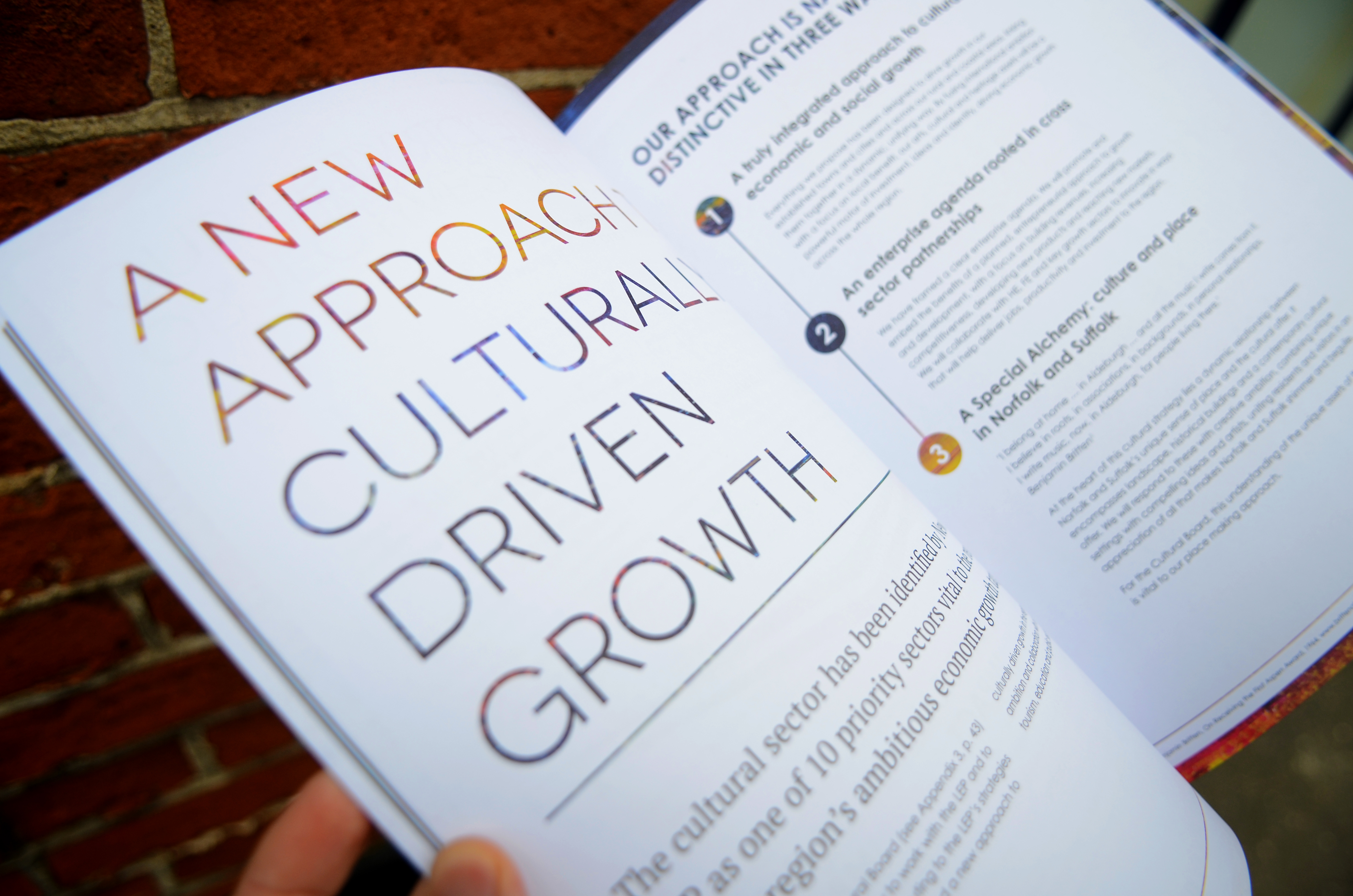 The 'Culture Drives Growth' strategy document