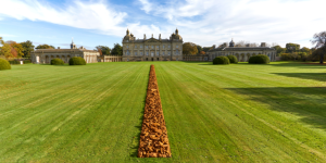 Spring and Richard Long at Houghton Hall