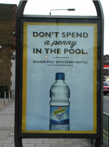 I Wish I'd Done That: Schweppes